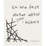 Disktrasa med rolig text - Fest, Fest