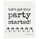 Disktrasa med rolig text - Fest, Party